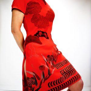 Alfred Shaheen 1960's hostess dress