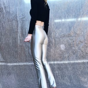 1970's Disco Diva fitted spandex pants