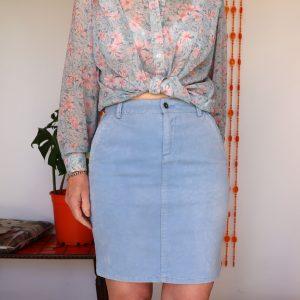 Jump Items cord skirt